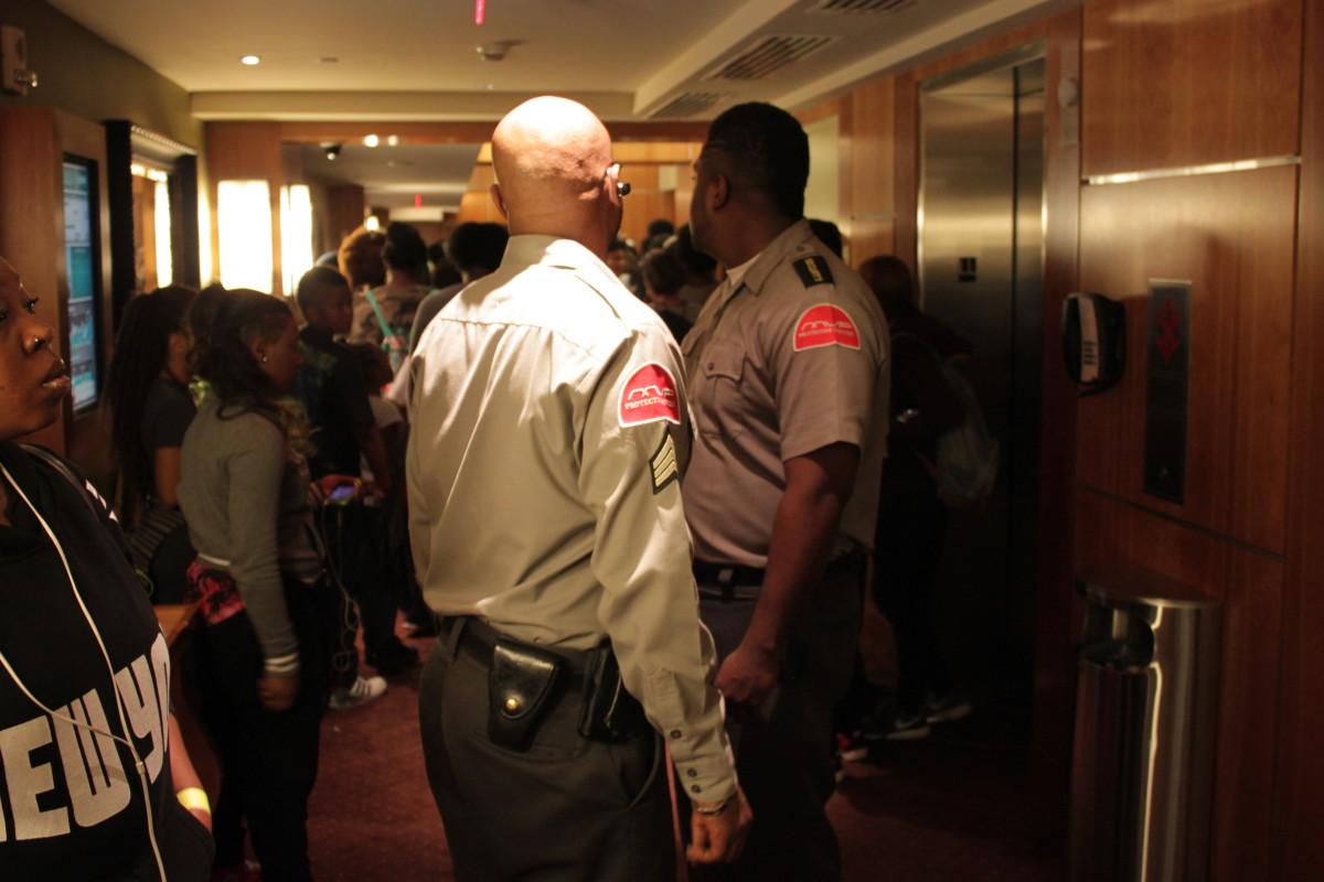 MVP Security Officers providing hotel security